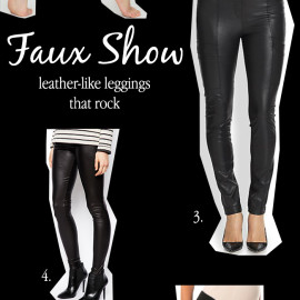 What Are You Wearing: Faux Leather Leggings