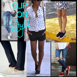 What Are You Wearing: Slip On Sneakers