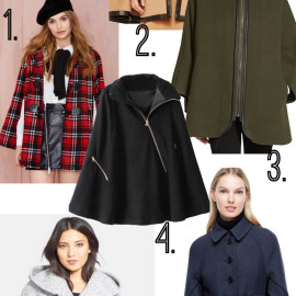 15 Outerwear Pieces That Take The Cape