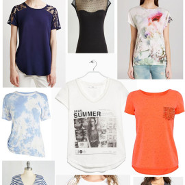 Sweet Tee's For Summer