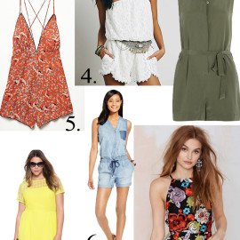 10 Styles To Get Your Cheeks On! Romper Roundup