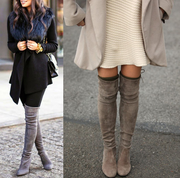 Fall/Winter 2015 Trend: Over The Knee Boots - Tiffany Pinero Style