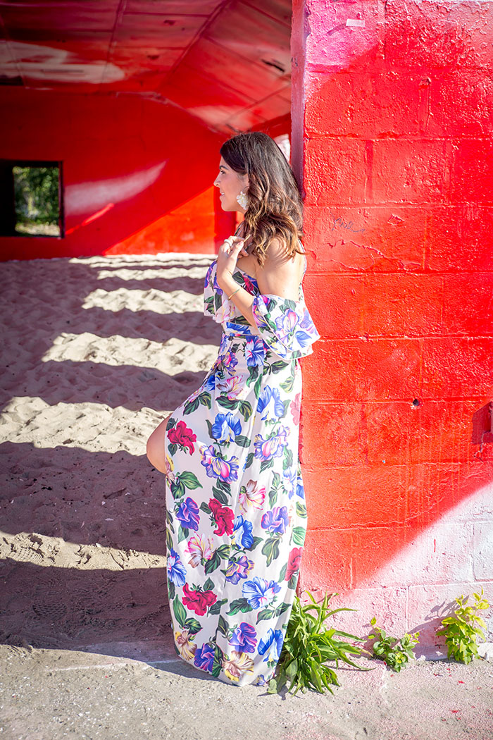 Tiffany-Pinero-Fashion-Stylist-Asos-Dress-Fashion-Blogger-Fort-Tilden-Rockaway-Art-Exhibition-Floral-Maxi-Dress