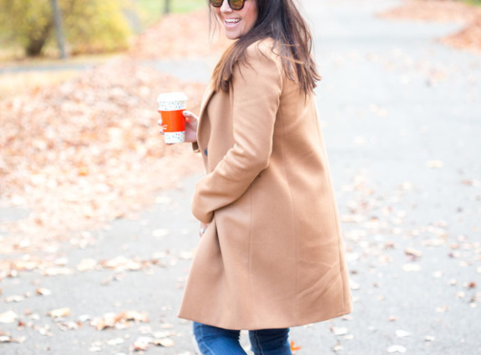 Winter Style: Camel Coated