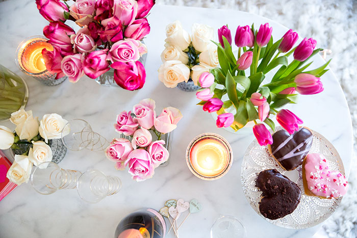 Tiffany-Pinero-Style-Dunkin-Donuts-Flowers-Pretty-Fashion-Blog-Valentines-Day