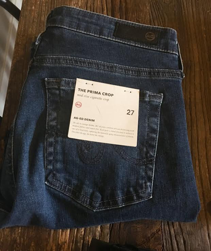 Jeans For Short Legs AG Prima Crop