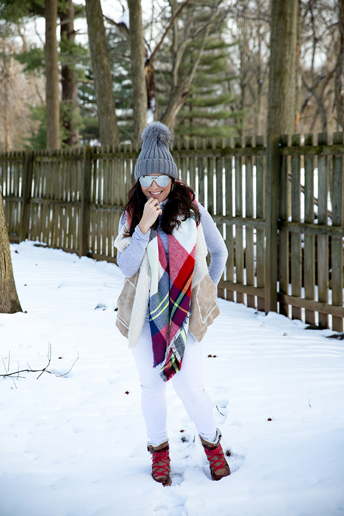Tiffany-Pinero-Style-Winter-Fashion-Ski-Bunny-Chic-Shearling-Plaid